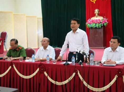 Chủ tịch Nguyễn Đức Chung sẽ trực tiếp đối thoại với người dân Đồng Tâm vào ngày mai