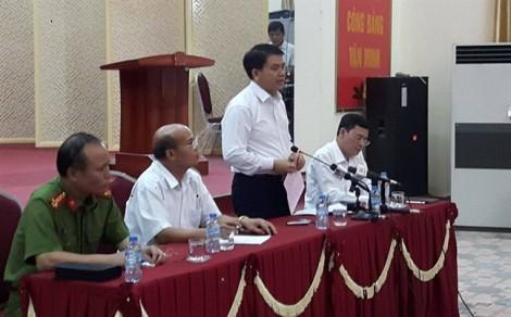 Thanh tra toàn diện việc sử dụng đất xã Đồng Tâm, đề nghị Viettel ngưng thi công