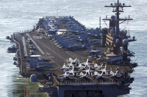 Triều Tiên dọa 'một đòn đánh chìm' tàu sân bay Mỹ