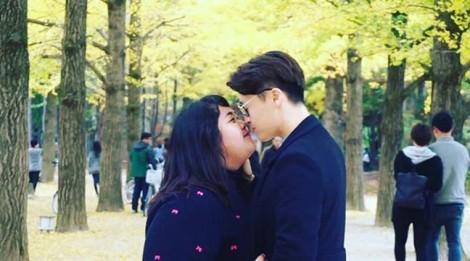 Nàng mập sánh duyên trai đẹp Hàn Quốc khiến chị em phát hờn