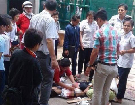Mổ nối gân cho nữ sinh lớp 6 bị đâm sau hỗn chiến trước cổng trường