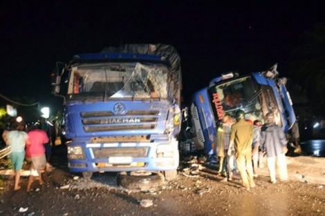 Vụ lật xe khách nhiều người bị thương: Đưa 9 nạn nhân vào Bình Định cấp cứu