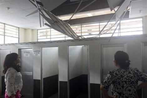 Sập nhà vệ sinh 'bạc tỷ' chợ An Đông, sự cố đã được dự báo?