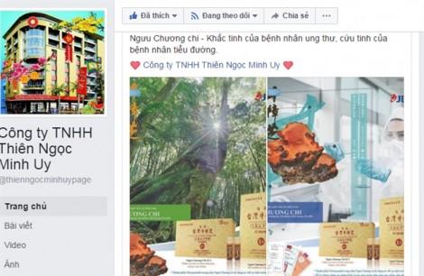 Sau tuyên bố dừng hoạt động, Thiên Ngọc Minh Uy quảng cáo 'thần dược' chữa ung thư