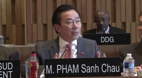 Phần ứng thí ấn tượng của ông Phạm Sanh Châu vào vị trí TGĐ UNESCO