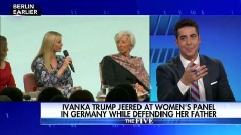 Người dẫn chương trình của Fox 'lỡ lời' về Ivanka