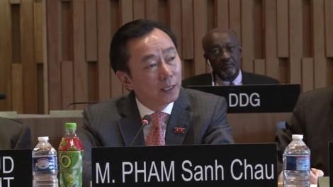 Vì sao ông Phạm Sanh Châu mang trà Dr. Thanh đi phỏng vấn vị trí Tổng giám đốc UNESCO?