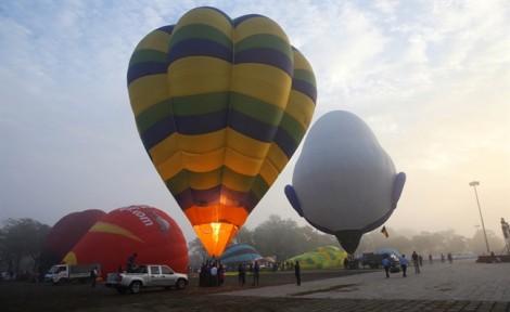 Ấn tượng lễ hội kinh khí cầu quốc tế tại Huế
