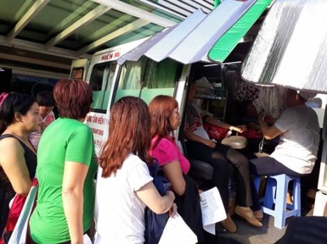 Quận 11: 234 hội viên phụ nữ tham gia hiến máu