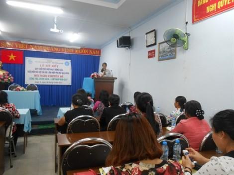 Quận 9: Hội phụ nữ phối hợp hoạt động với Bảo hiểm xã hội
