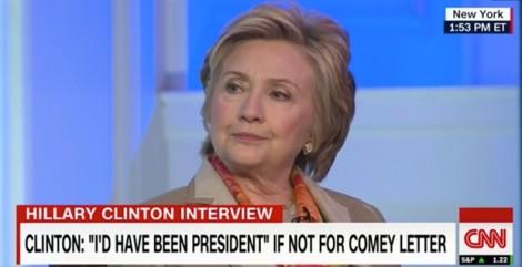 Hillary Clinton đổ lỗi thất cử cho FBI và Nga