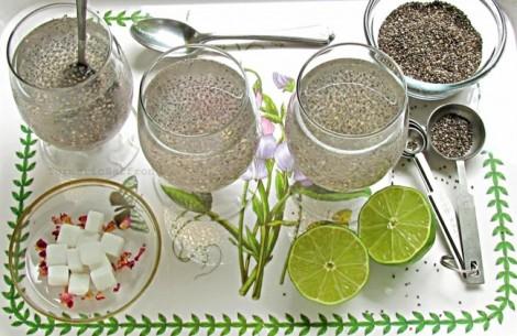 Thực đơn giảm 2-3 kg trong 1 tuần với hạt chia