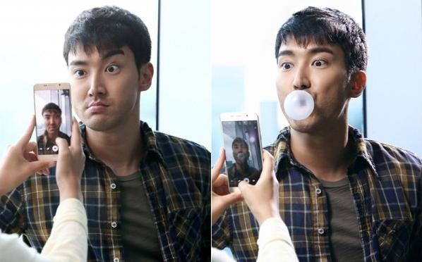 My nam nhom Super Junior tai ngo cong chung Viet