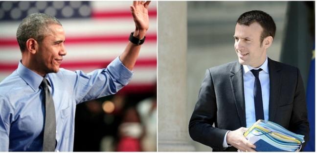 Bau cu Tong thong Phap: Obama chon Emmanuel Macron