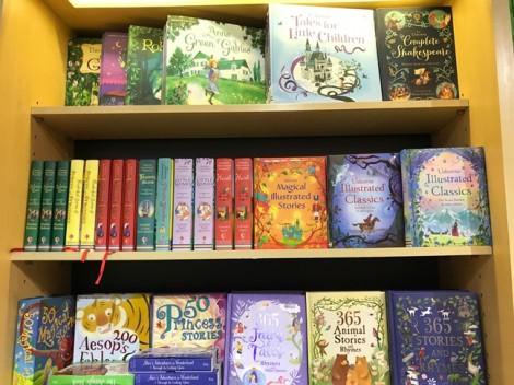 Thị trường 'khát' sách tiếng Anh cho trẻ
