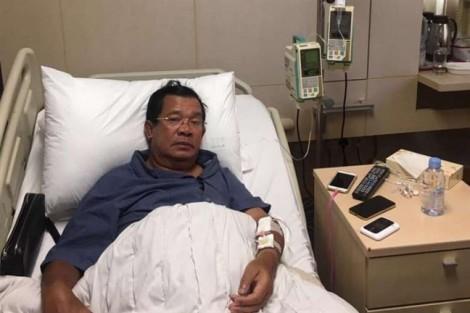 Thủ tướng Campuchia Hun Sen bất ngờ nhập viện Singapore