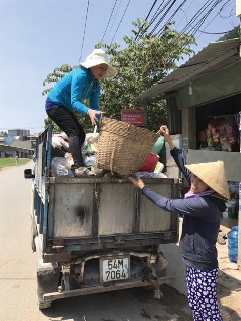 Tổ thu gom rác của Hội phụ nữ
