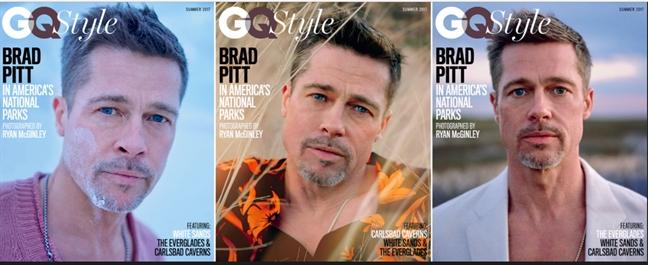 Trai long tren GQ: Brad Pitt chia tay hon nhan hay chia tay nhan quang cao?
