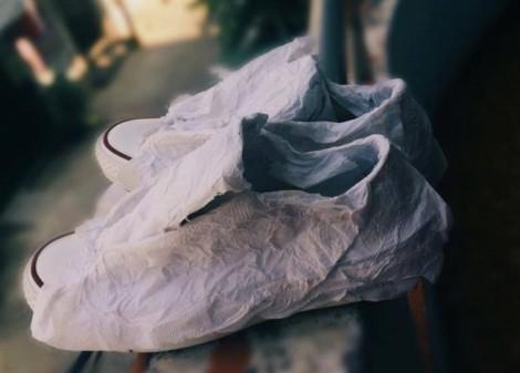 Cách giặt giày trắng dễ thực hiện bạn nên biết