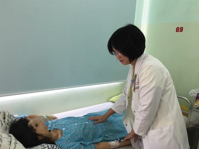 Nhieu nguy hai khi thai bam o vet seo sinh mo