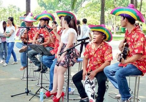 Từ tháng 5, cuối tuần ra phố Nguyễn Huệ xem nghệ thuật đường phố