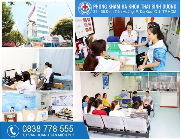 Phong kham Da khoa Thai Binh Duong – noi cham soc suc khoe gia dinh ban