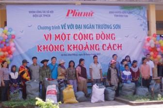 Vượt đại ngàn Trường Sơn đến với người nghèo Kon Plong