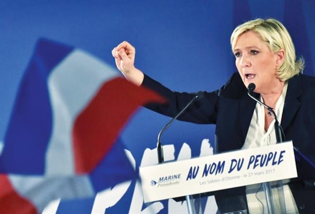 Marine Le Pen - Chien binh khong mang ao giap