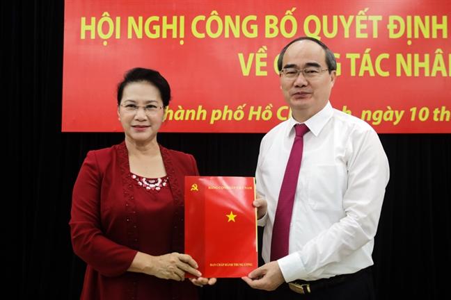 Bi thu Nguyen Thien Nhan: 'Lam Bi thu Thanh uy la toi ve nha lan thu hai'