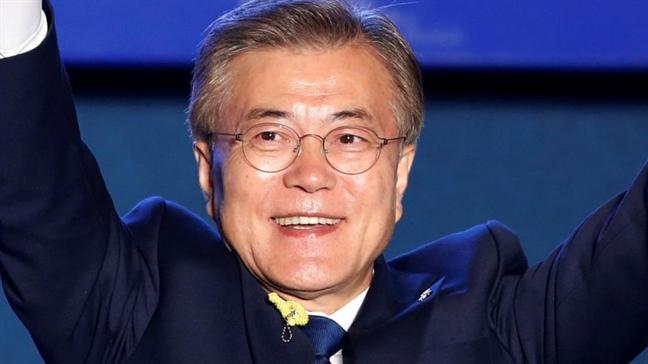 Trieu Tien im lang kho hieu khi Moon Jae-in lam Tong thong Han Quoc