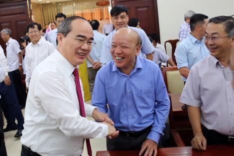 Ông Nguyễn Thiện Nhân thay ông Đinh La Thăng làm Bí thư Thành ủy TP.HCM