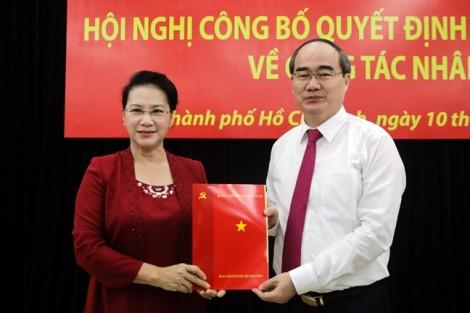 Bí thư Nguyễn Thiện Nhân: 'Làm Bí thư Thành ủy là tôi về nhà lần thứ hai'