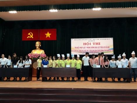 Quận Bình Tân: Phường An Lạc A đoạt giải nhất hội thi tìm hiểu pháp luật