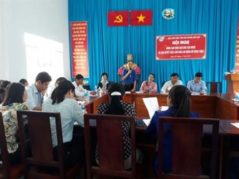Huyện Cần Giờ: Toạ đàm về dạy nghề và giải quyết việc làm cho phụ nữ