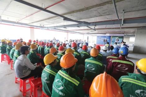 Sacomreal hưởng ứng  Tháng hành động an toàn vệ sinh lao động