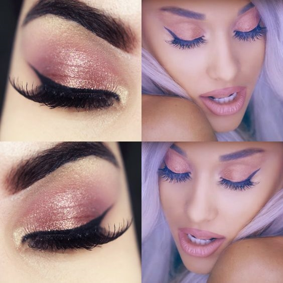Hoc cach trang diem dang yeu nhu nu ca si 9X Ariana Grande