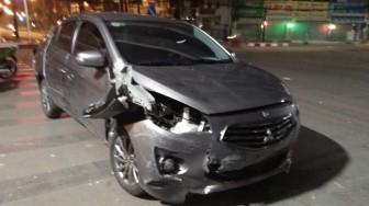 Truy đuổi tài xế ôtô gây tai nạn rồi bỏ trốn gây náo loạn phố Sài Gòn