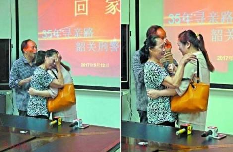 Hội ngộ kỳ diệu của gia đình sau 35 năm con gái bị bắt cóc