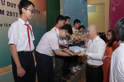 117 học sinh chiến thắng cuộc thi Toán học- Tư duy và thực tiễn