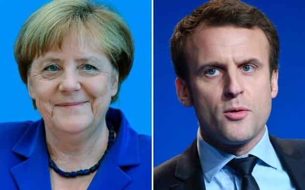 Tong thong Macron thuyet phuc Duc cuu nguy cho EU