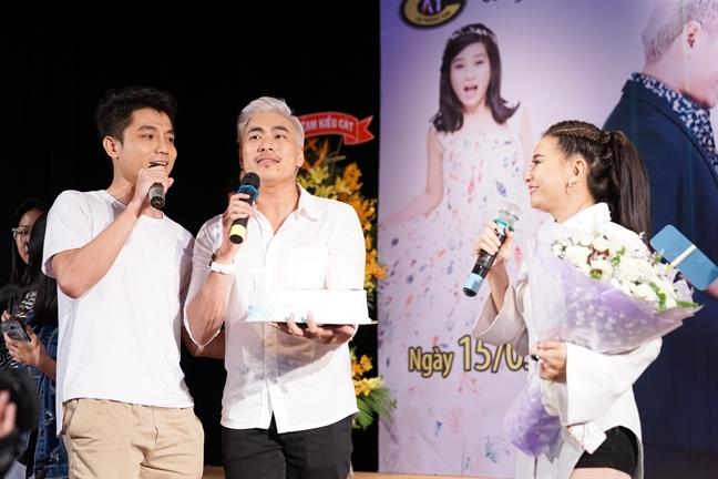 Cat Phuong: Neu duyen no khong thanh, toi se dung ra lo hon le cho Kieu Minh Tuan