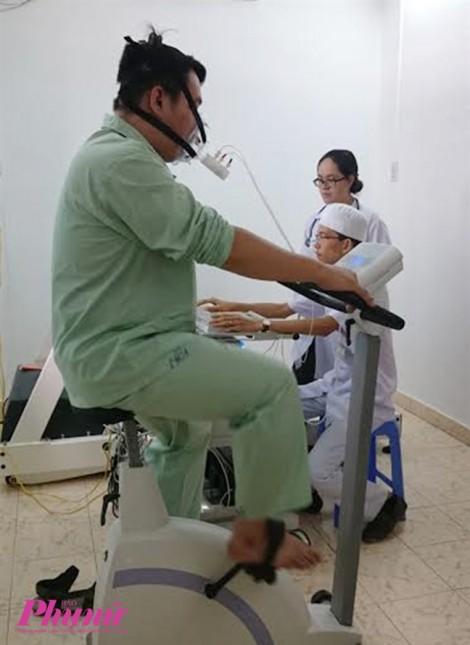 Lần đầu tiên ở Việt Nam, bệnh viện triển khai phòng tập phục hồi chức năng tim