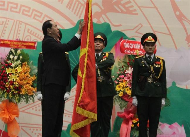 Chu tich nuoc Tran Dai Quang: Nganh co yeu phai bi mat, an toan, chinh xac trong moi tinh huong