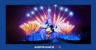 Bay Air France, trúng kỳ nghỉ tại Disneyland Paris thần tiên