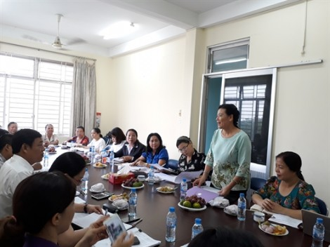 Hội LHPN Việt Nam khảo sát hoạt động phát vay vốn tại TP.HCM