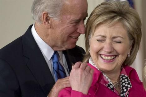 Cựu Phó Tổng thống Mỹ Joe Biden 'dìm hàng' Hillary Clinton
