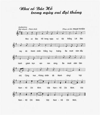 Cục NTBD lại làm chuyện lạ: Cấp phép phổ biến ca khúc 'Như có Bác Hồ trong ngày vui đại thắng'