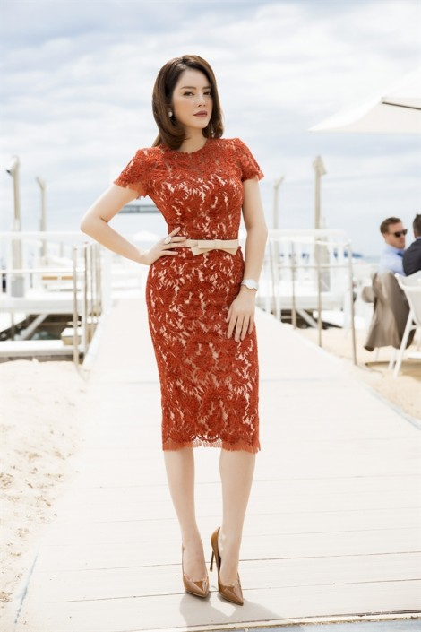Lý Nhã Kỳ mở tiệc chiêu đãi khách VIP tại Cannes