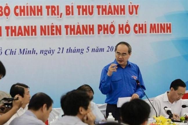 Bi thu Thanh uy Nguyen Thien Nhan: Ket xe va o nhiem la thach thuc cua TP.HCM