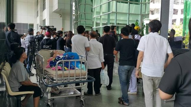 No lon o benh vien Thai Lan, 23 nguoi thuong vong